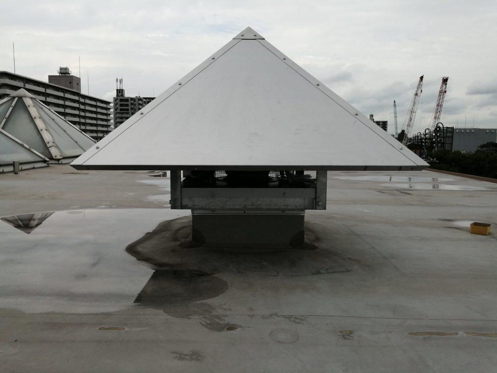 長居障がい者スポーツセンタープール棟屋上改修工事